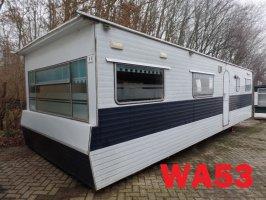 Chalets/stacaravans met 3 slaapkamers