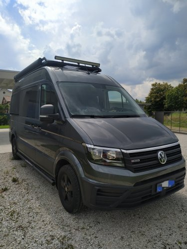 Vw crafter 4x4, 177 ps, 4motion, automatic, phantom adventure Vw crafter 4x4 buscamper foto: 0