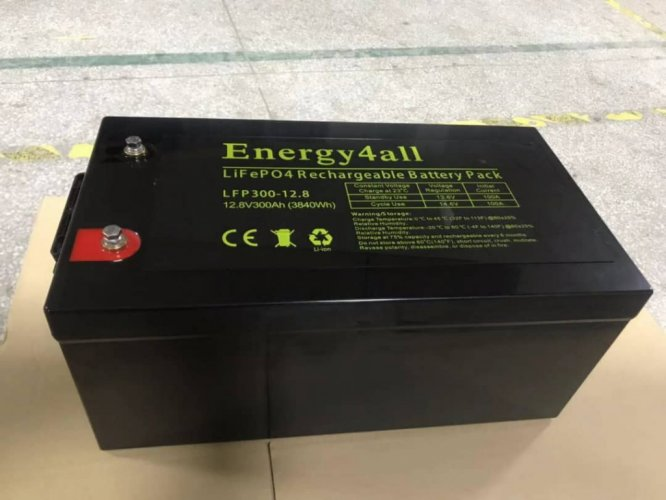 Energy4ALL Lithium LiFePO4 12V 300Ah photo: 0
