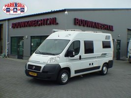 Knaus Boxstar 540 Compact van with energy-efficient Fiat 100