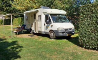 4 pers. Want to rent a Chausson motorhome in Siddeburen? From € 85 pd - Goboony