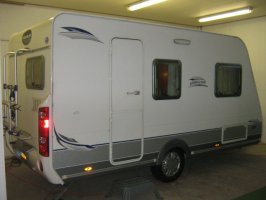 Caravelair 450 Ambiance Style 2 single beds