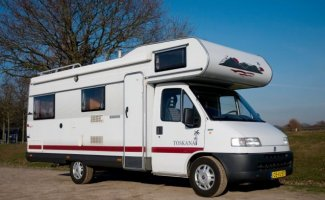 6 Pers. Ein Fiat-Wohnmobil in Ede mieten? Ab 92 € pd - Goboony