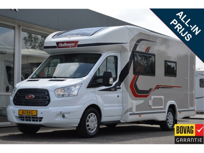 Challenger Graphite 260 Automaat FACE TO FACE EN CENTRAAL HEFBED foto: 0