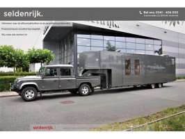 Land Rover Defender 130 TD4 Crew Cab TRAILER + Camper trailer Fifthwheel | Slide-out | Completely self-sufficient | Lots of options!