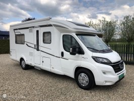 Hymer AUTOMAAT (!!) 150-PK EURO6 Tramp 668 SL Semi-integrated low single beds and full-width bathroom (Unique layout!)