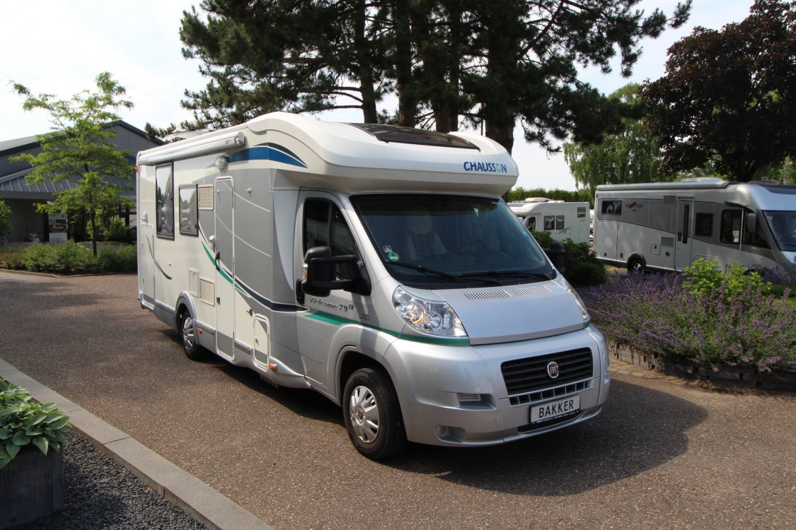 la meilleure attitude 6c9ca 17588 Chausson Welcome 79 EB from 2013 for sale on camperscaravans.nl.