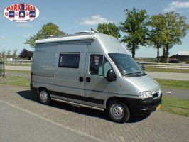 Woelcke (possl) Compacte buscamper 4.90m 2 persoons Fiat 128pk Ducato