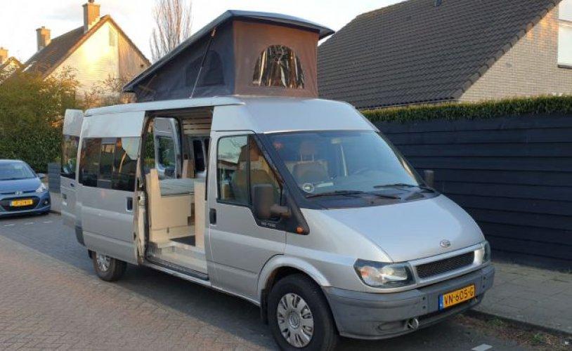 4 pers. Ford camper huren in Utrecht? Vanaf € 91 p.d. - Goboony foto: 0