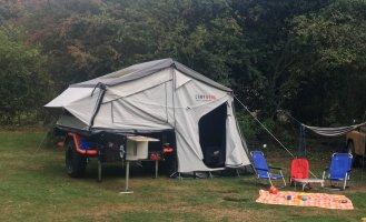 Campwerk Offroad Zelt Zeltanhänger
