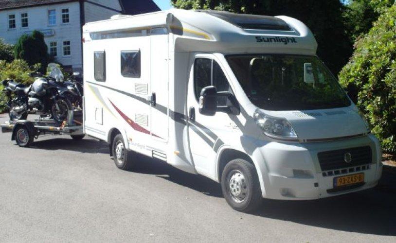 2 pers. Vous voulez louer un camping-car Sunlight à Hilversum? À partir de 115 € pd - Photo Goboony: 0
