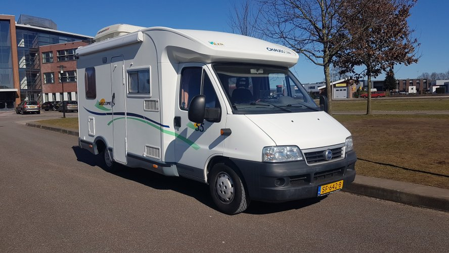 Chausson Welcome 55 met slechts 77.860 km
