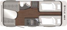 Caravan Comfort Single Beds 4 foto: 1
