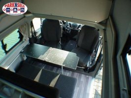 Ford Westfalia Nugget 480 bus camper 4 persoons Compact foto: 5