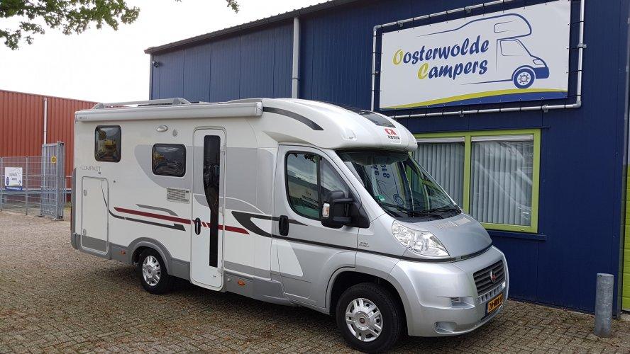 Adria Compact SL 130pk - Origineel NL - Enkele Bedden Garage  foto: 0